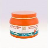 Маска из морковного масла на основе минеральной грязи для сухих и окрашенных волос